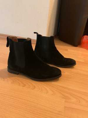 Black Navy Boot boots size 37