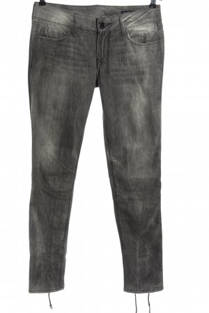 Black Orchid Low-Rise Trousers light grey casual look