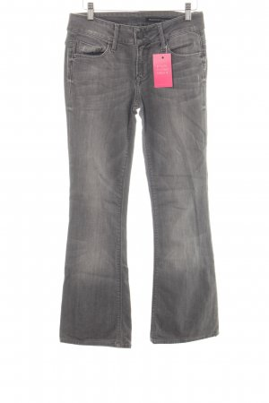 Black Orchid Low Rise jeans lichtgrijs casual uitstraling