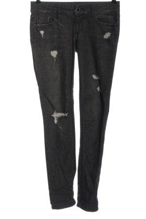 Black Orchid Jeans coupe-droite noir style décontracté