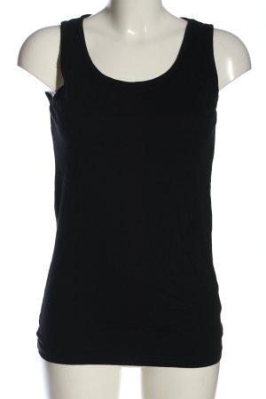 Black Premium by EMP Podkoszulek na ramiączkach czarny W stylu casual