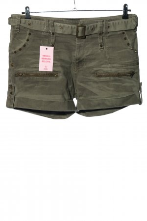 Black Premium by EMP Hot Pants khaki casual look