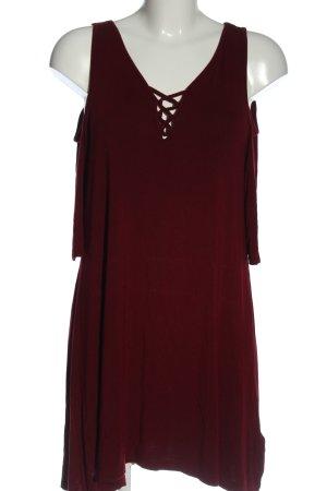 Black Premium by EMP Mini-jurk rood casual uitstraling