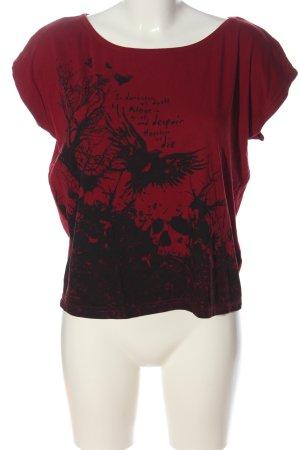 Black Premium by EMP Shirt met print rood-zwart prints met een thema