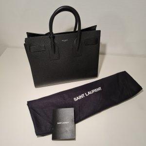 Black Sac De Jour Leather Handbag - Saint Laurent