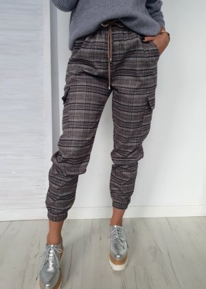 Pantalon cargo gris