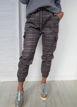 Pantalone cargo grigio
