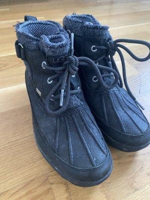 UGG Australia Korte laarzen zwart-donkergrijs