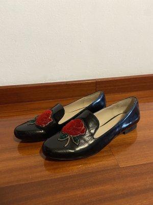 Zara Oxfords zwart-rood