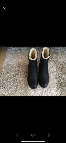 Blackstone Winter Boots dark blue