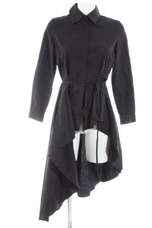 Black Sugar Lange blouse zwart casual uitstraling