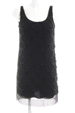 Black Swan Pinafore dress black graphic pattern elegant