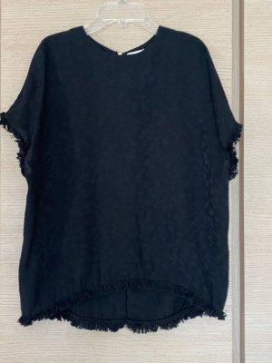 Zadig & Voltaire Jedwabna bluzka czarny