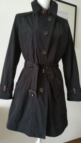 Wega Fashion Abrigo corto negro Poliéster