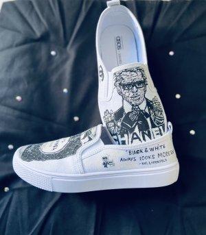 Black & white always Looks Schuhe /Slipper Gr4W/36,5-37