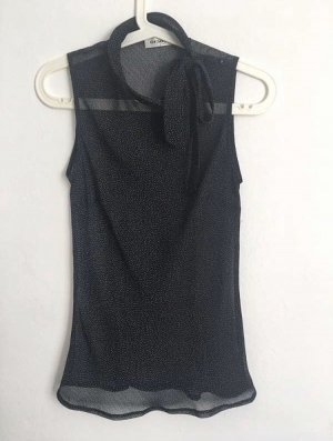 Black & White - Challenge! Transparente Bluse Gr.: XS