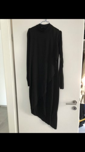 Black zara Mididress