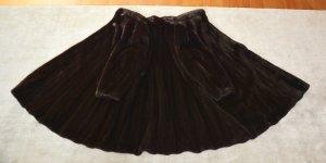 BLACKGLAMA Mantel schwarz braun Nerzmantel Pelzmantel swing mink coat dark
