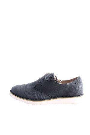 Blackstone Desert Boots schwarz Animalmuster Casual-Look