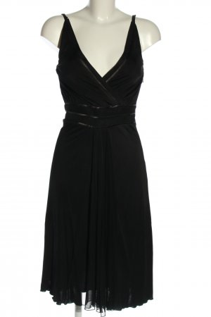 Blacky Dress Abito linea A nero stile professionale