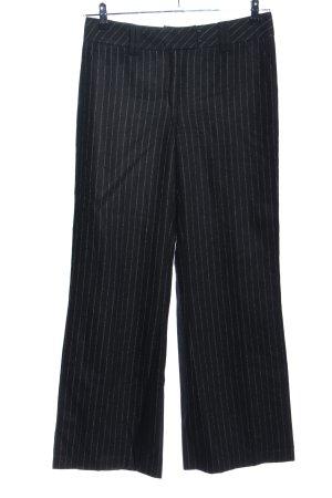 Blacky Dress Pantalon zwart gestreept patroon elegant