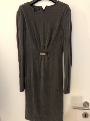 Blacky Dress Sukienka z długim rękawem antracyt