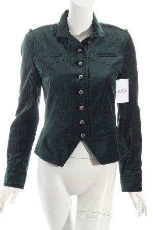 Blacky Dress Giacca militare verde bosco stile militare