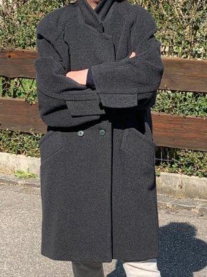 Blacky Dress Oversized Coat black cashmere