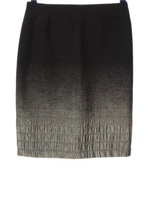 Blacky Dress Ołówkowa spódnica czarny-jasnoszary Gradient W stylu casual