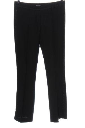 Blacky Dress Pantalon à pinces noir style décontracté