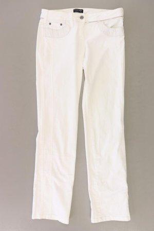 Blacky Dress Spodnie z pięcioma kieszeniami w kolorze białej wełny