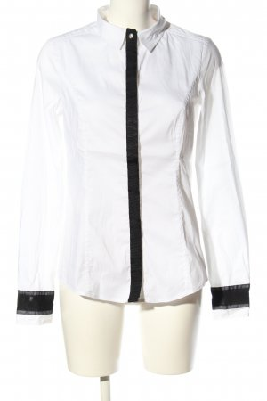 Blacky Dress Camicia blusa bianco-nero stile professionale