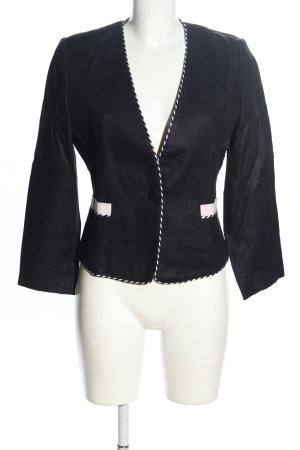 Blacky Dress Short Blazer black-white business style