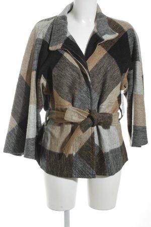Blacky Dress Cappotto corto multicolore Tessuto misto