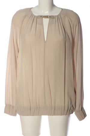 Blacky Dress Bluzka z długim rękawem w kolorze białej wełny