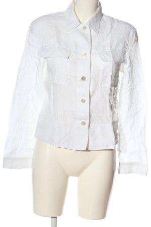 Blacky Dress Chemise à manches longues blanc style d'affaires