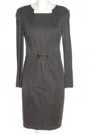 Blacky Dress Langarmkleid hellgrau Casual-Look