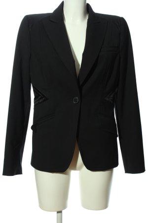 Blacky Dress Long-Blazer schwarz Business-Look