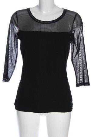 Blacky Dress Manica lunga nero stile casual