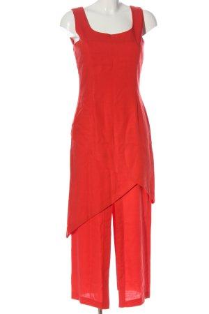 Blacky Dress Sukienka midi czerwony W stylu casual