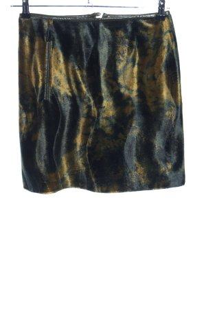 Blacky Dress Minirock schwarz-blassgelb Farbverlauf Party-Look