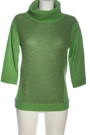 Blacky Dress Maglione dolcevita verde stile casual