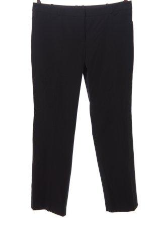 Blacky Dress Spodnie materiałowe czarny W stylu biznesowym