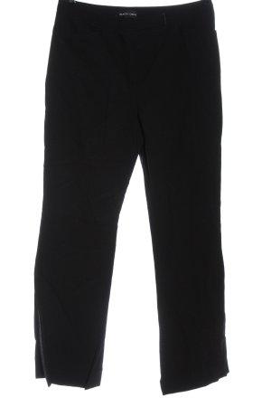 Blacky Dress Spodnie materiałowe czarny W stylu casual