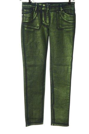 Blacky Dress Jeans a gamba dritta verde stile casual
