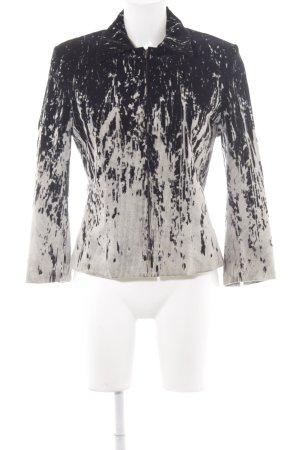 Blacky Dress Between-Seasons Jacket black-oatmeal color gradient casual look