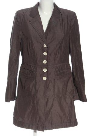 Blacky Dress Between-Seasons-Coat brown flecked casual look