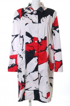 Blacky Dress Übergangsmantel abstraktes Muster Casual-Look