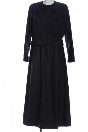 Blacky Dress Twin set in tessuto nero stile casual