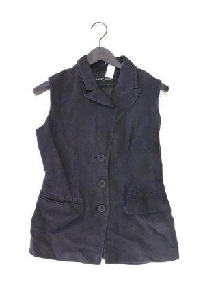 Blacky Dress Weste schwarz Größe 38